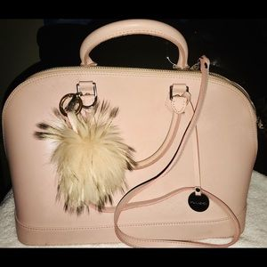 Pulicati LIGHT PINK leather Purse from Italy🔴